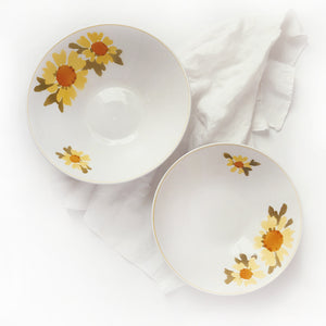 """Dolly"" vintage Mikasa serving bowls"