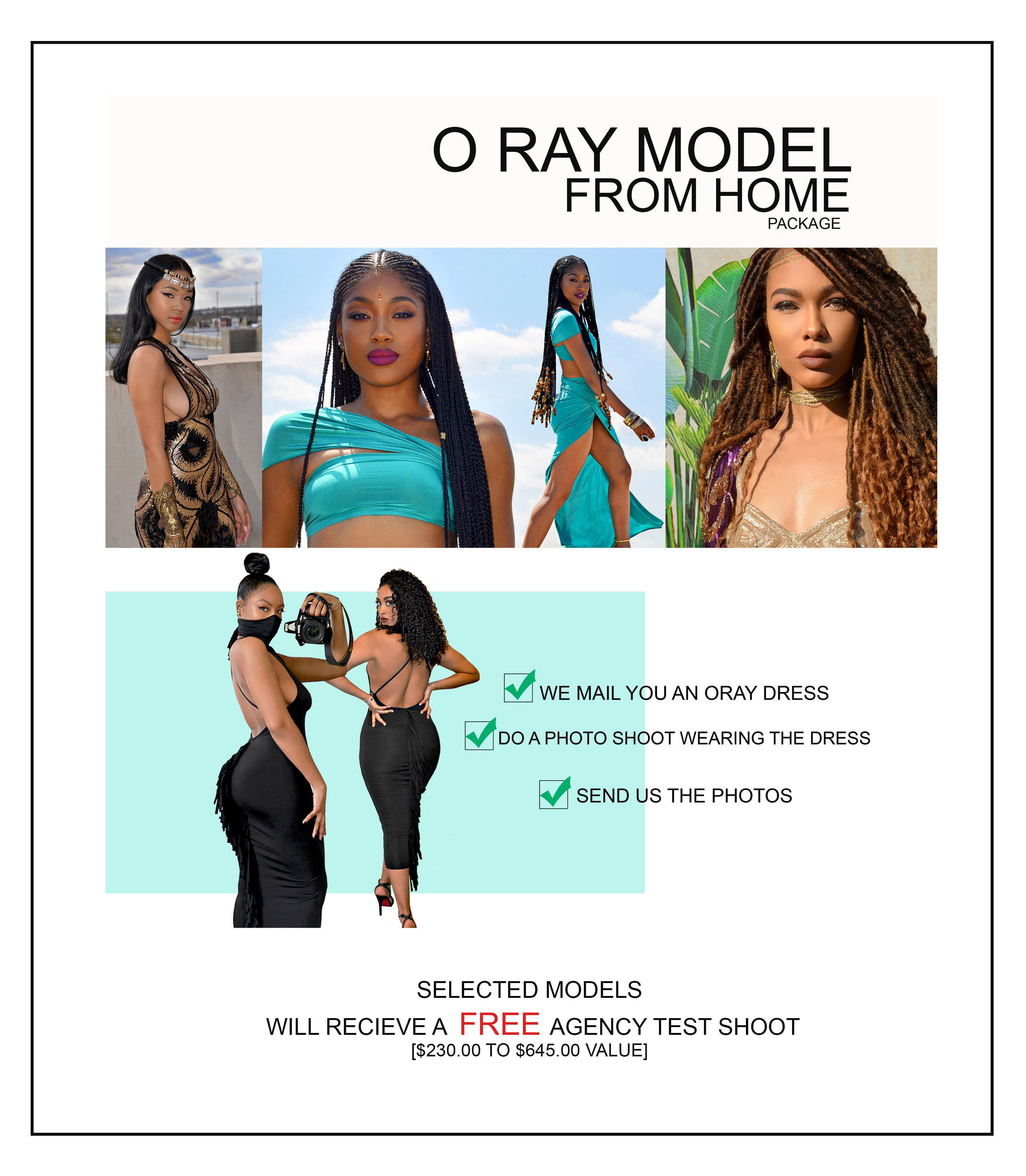 [Plus Size] O RAY MODEL FROM HOME