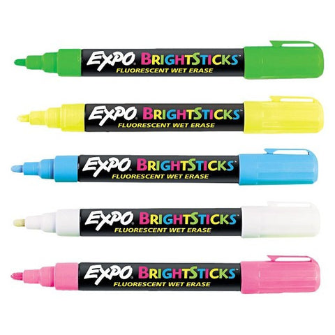 Expo Bright Sticks, 5-pack