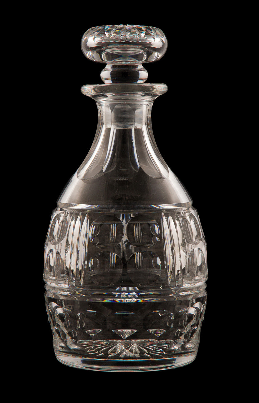 SOLD American or English Georgian Style Tapered Decanter and Stopper