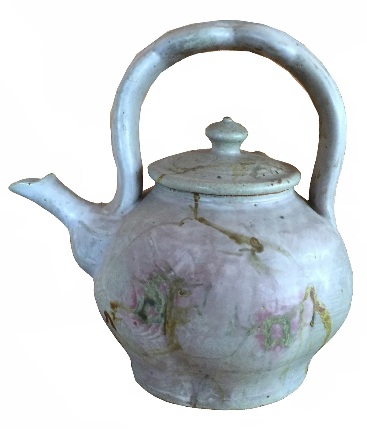 John Glick Studio Pottery Matte Glazed Stoneware Teapot and Cover