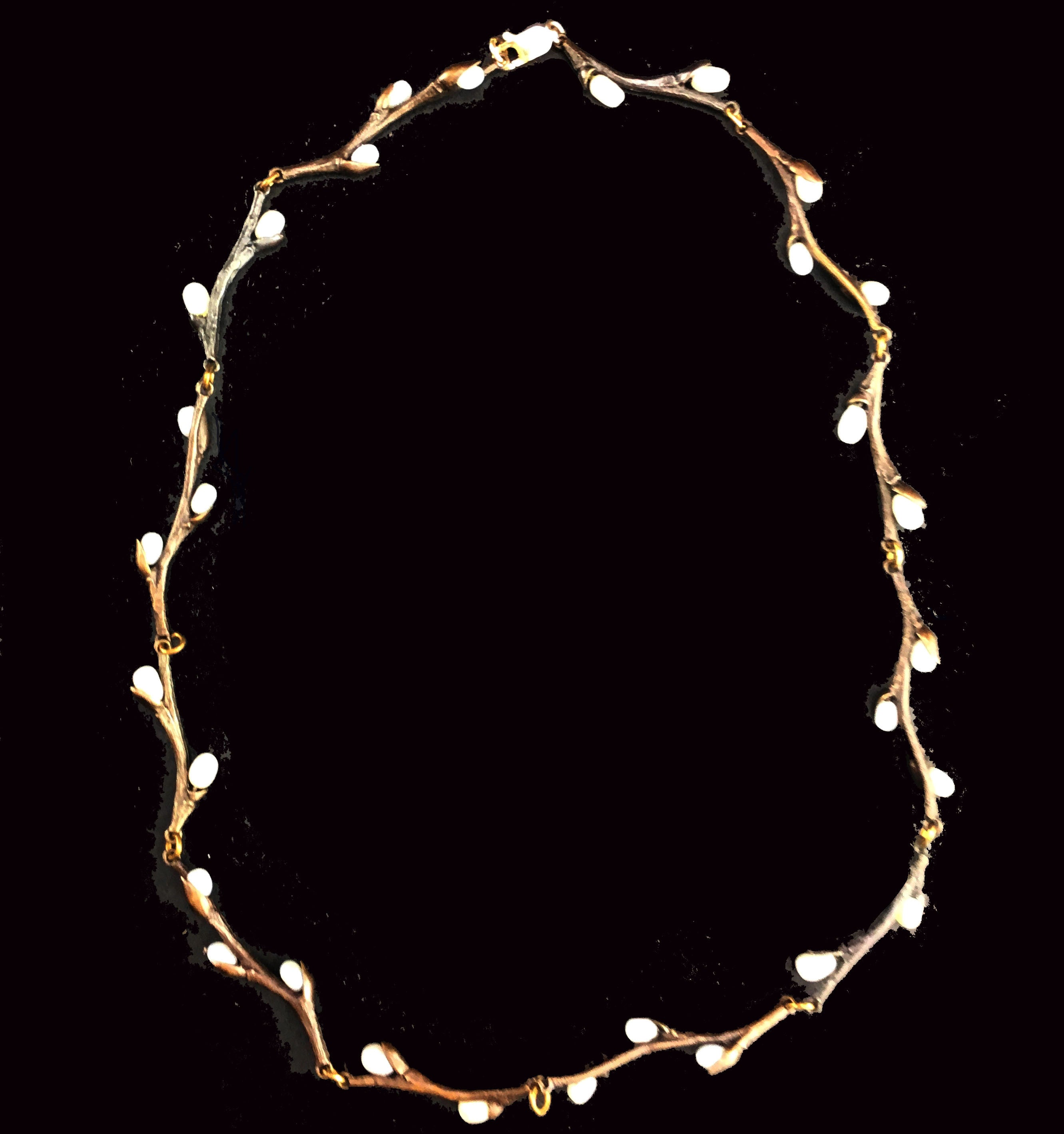 Michael Michaud Type Pussy Willow Necklace