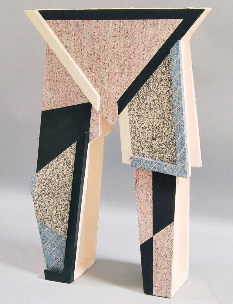 American Architectural Contemporary Ceramic Sculpture