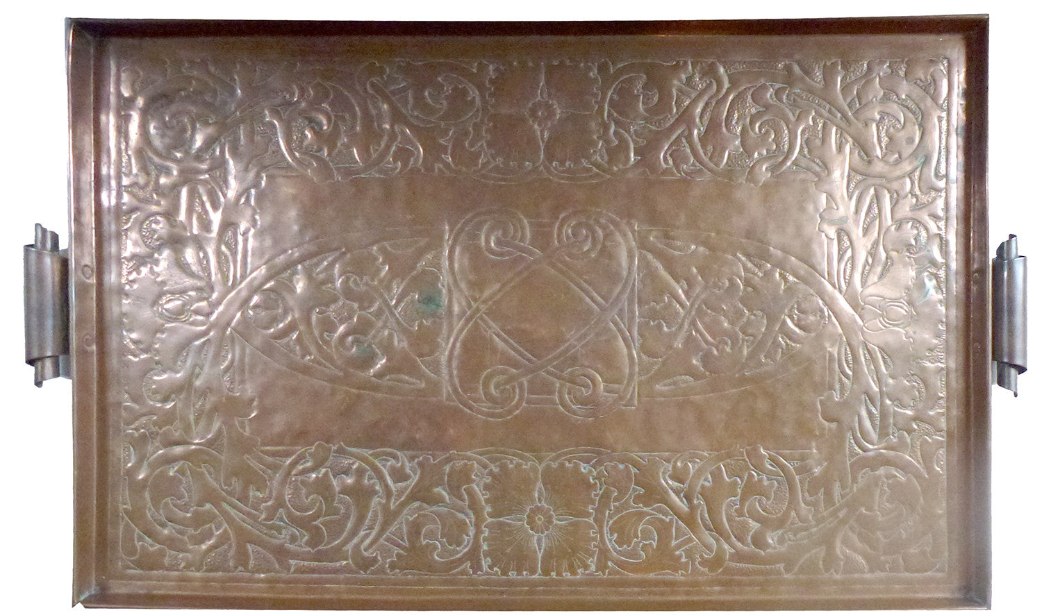 SOLD English Liberty & Company Copper Arts & Crafts Tray