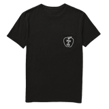 'Fresh as Fuck' Pocket Tee in Black - WearBareBones
