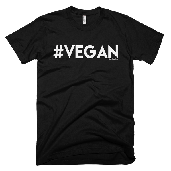 Men's 'Vegan' Tee in Black - Wear Bare Bones
