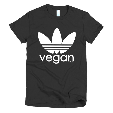 Women's 'Sporty Vegan' Tee - WearBareBones