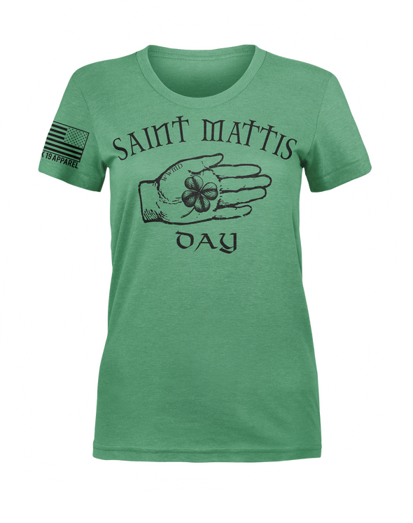 Lady's Saint Mattis Day Shirt(discontinued)