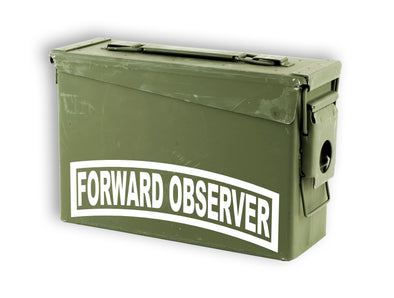 Fister Forward Observer Decal Sticker