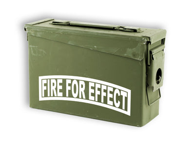 Fire For Effect Fister Forward Observer Decal Sticker