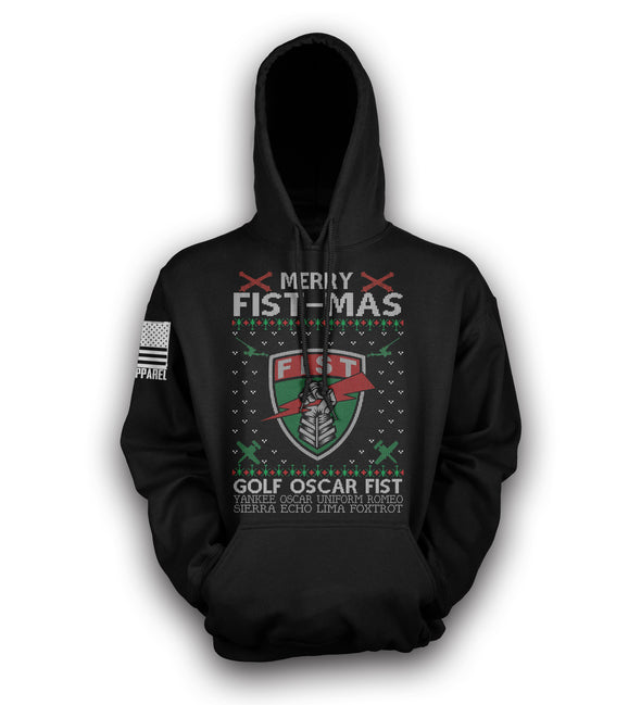 Merry FIST-MAS Pull-Over Hoodie