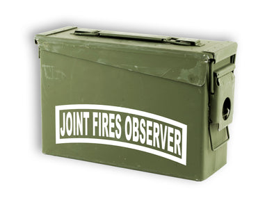 JFO Joint Fires Observer Fister Forward Observer Decal Sticker