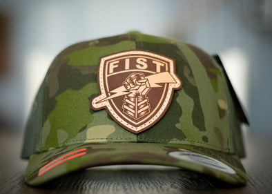 Forward Observer Fist Shield Tropic Multicam Trucker Hat