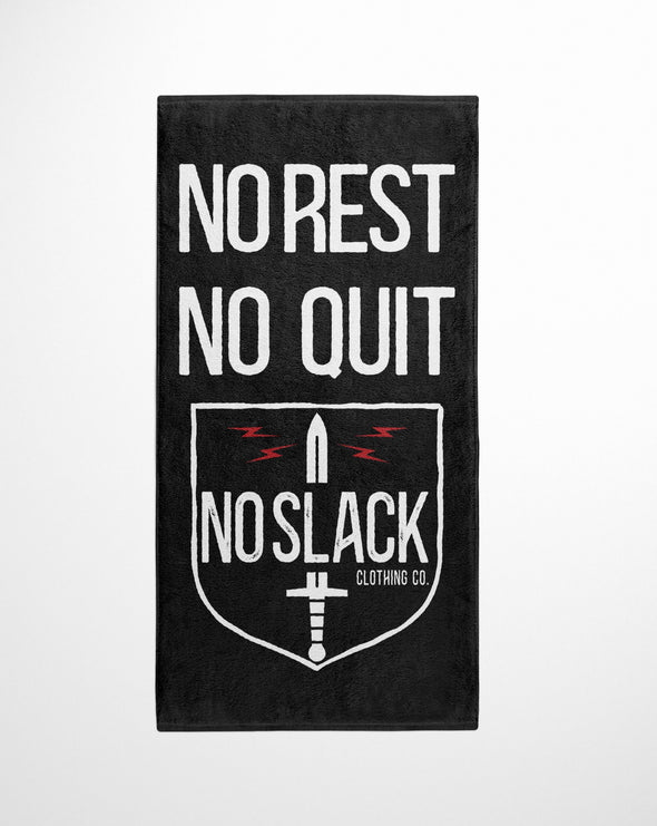 No Slack Clothing Co Beach Towel
