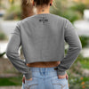 Success isn't Final, Failure isn't Fatal Women's Crew Cropped Sweater No Slack Clothing Company