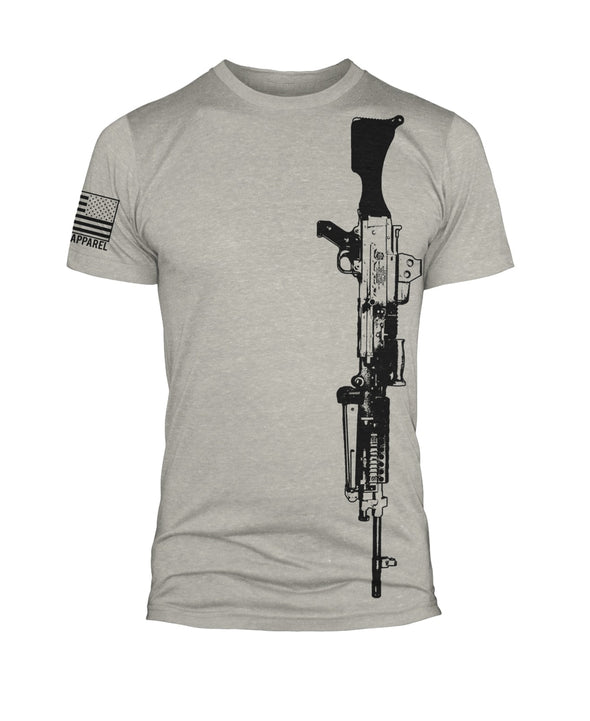 240 Machine Gun T Shirt