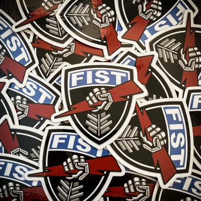 4 Pack Forward Observer Fist Stickers