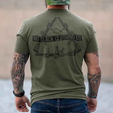 No Slack Rifle T-Shirt No Slack Clothing Company