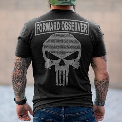 Forward Observer Punisher Creed Shirt
