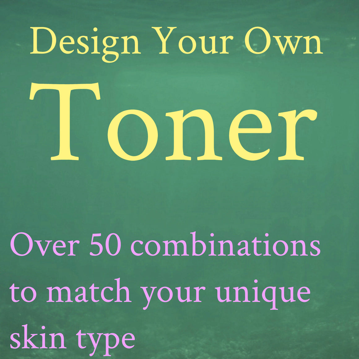Custom Facial Toner