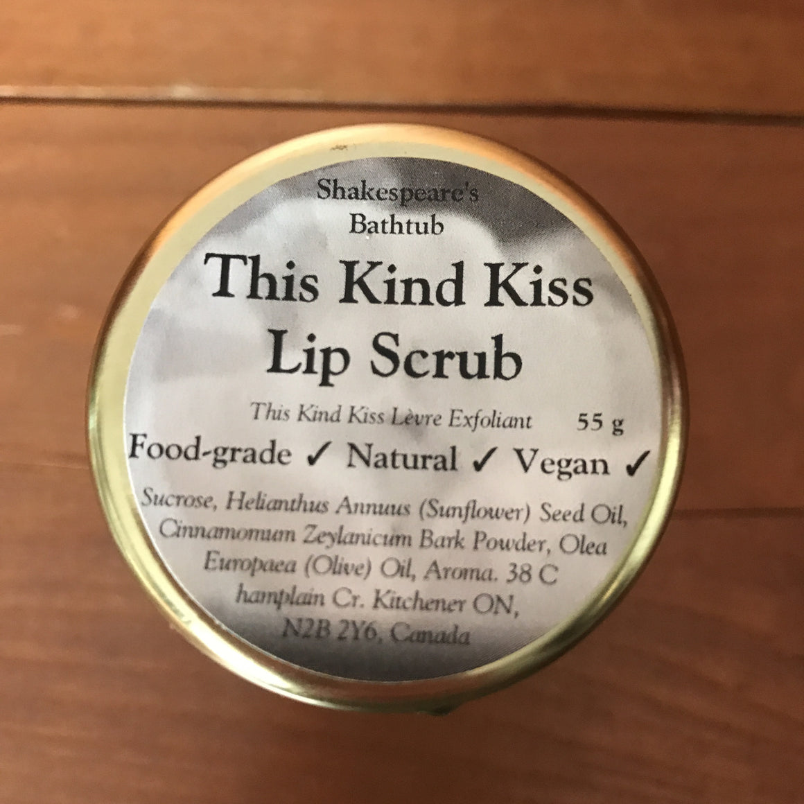 This Kind Kiss Lip Scrub