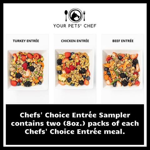 Your Pets' Chef dog food
