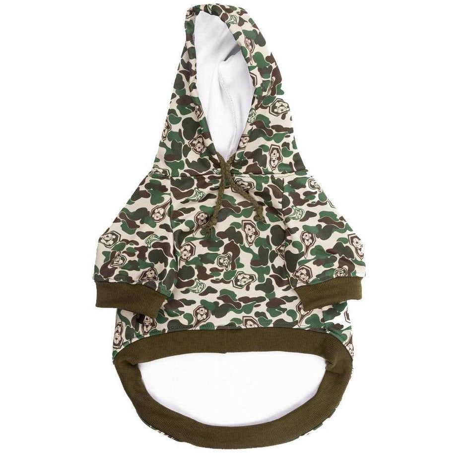 The Hype Camo Hoodie | Dog Clothing