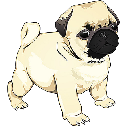 Pug Pup | Sticker