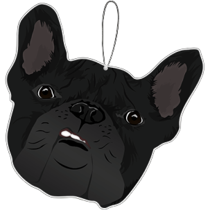 French Bulldog Smirk | Air Freshener