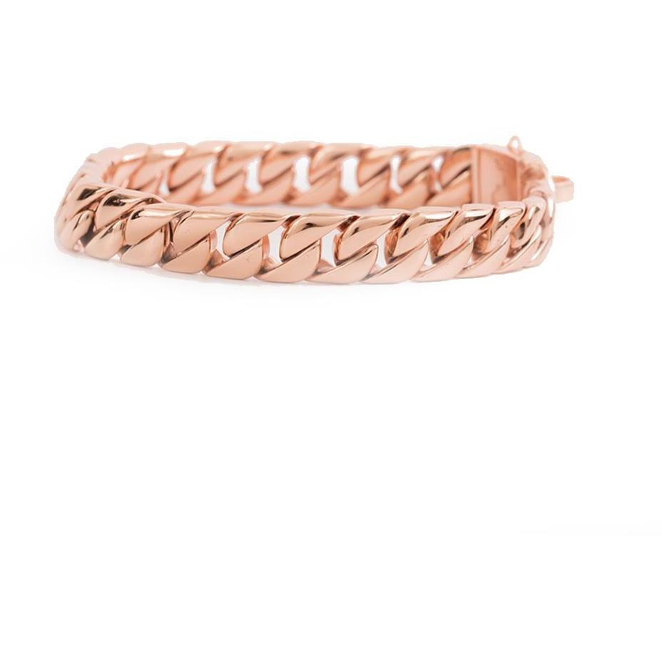 Miami Rose Cuban Link - Small Size Range | Luxury Collar