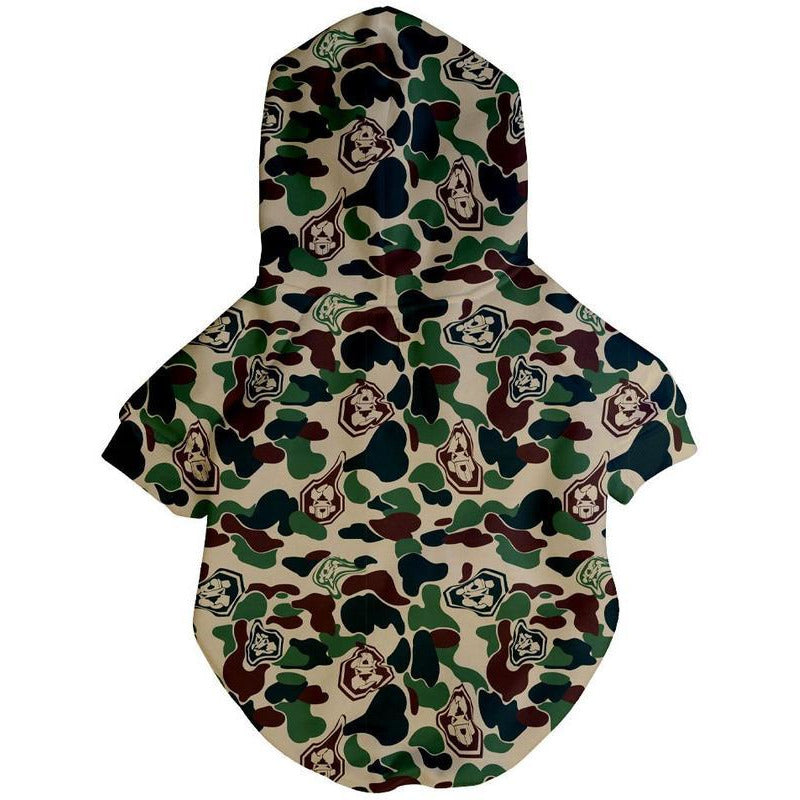 Hype Camo Hoodie | Dog Clothing
