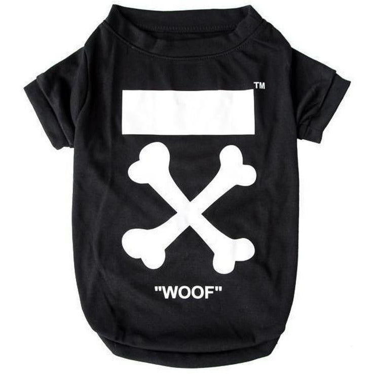 Woof T-shirt | Dog Clothing