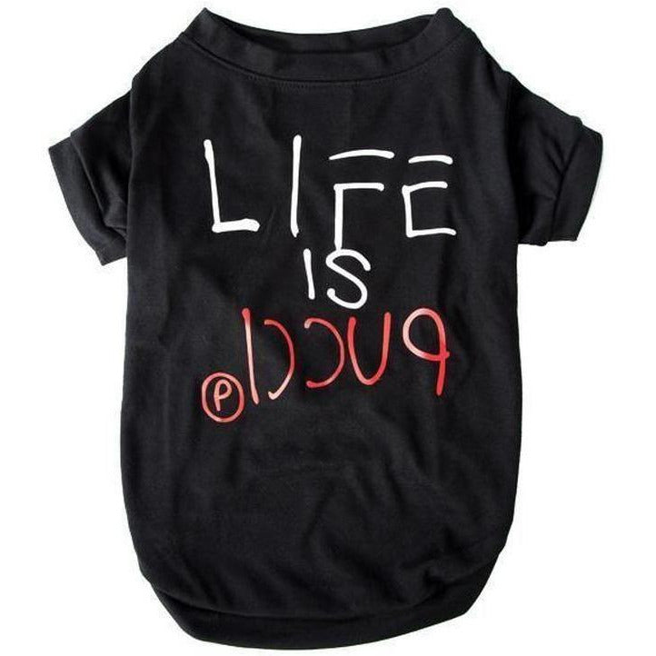 Life is Pucci T-shirt | Dog Clothing