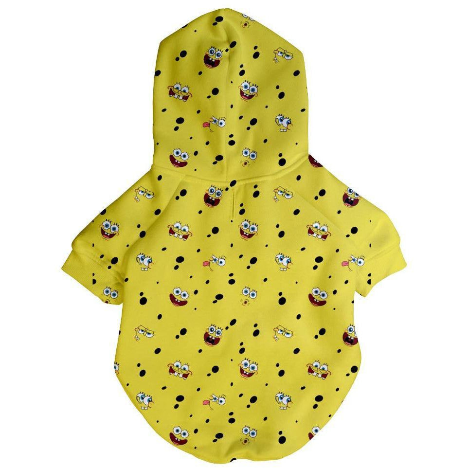 Spongebob x Fresh Pawz - SB All Over Hoodie | Dog Clothing