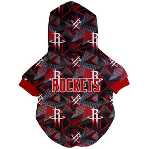 Houston Rockets x Fresh Pawz - Hardwood Hoodie | Dog Clothing
