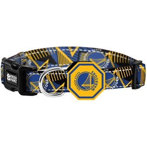 Golden State Warrios x Fresh Pawz - Hardwood | Collar