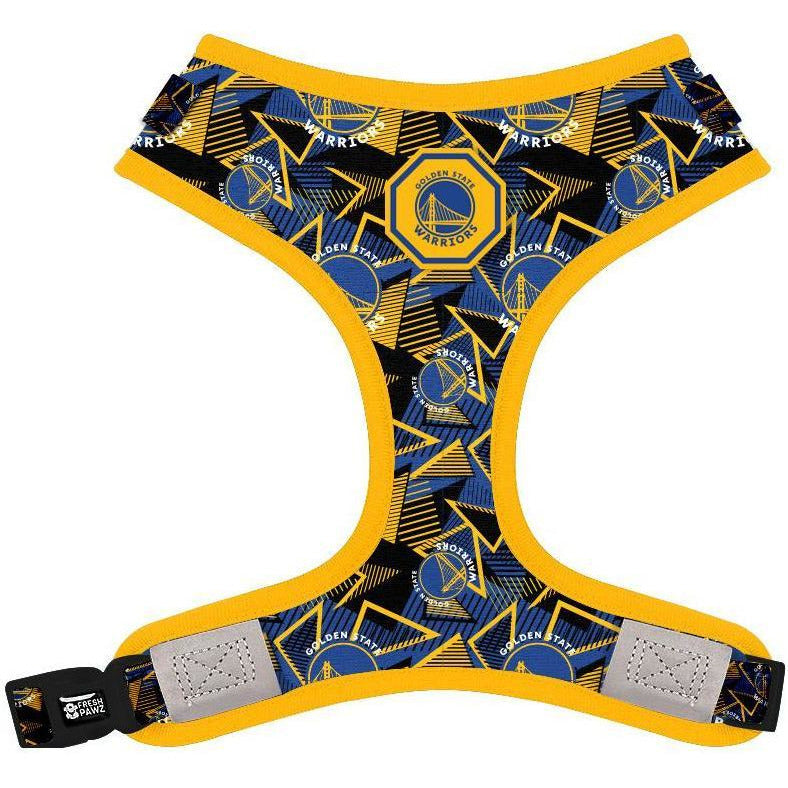 Golden State Warriors x Fresh Pawz - Hardwood | Adjustable Mesh Harness