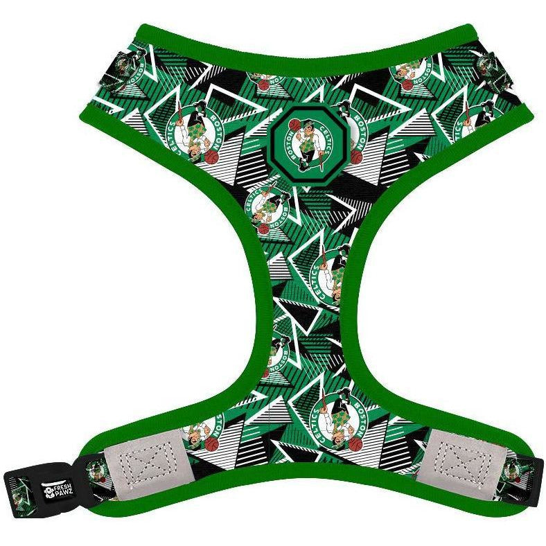 Boston Celtics x Fresh Pawz - Hardwood | Adjustable Mesh Harness