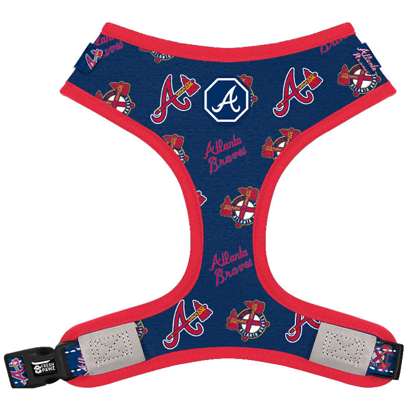 Atlanta Braves x Fresh Pawz | Adjustable Mesh Harness