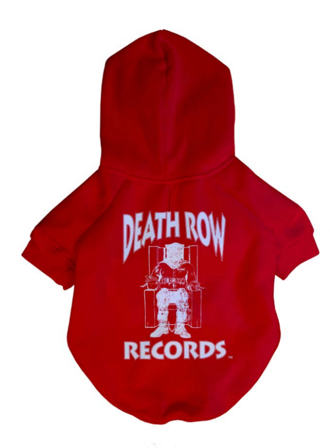 Death Row x Fresh Pawz - Classic Logo Hoodie | Dog Clothing