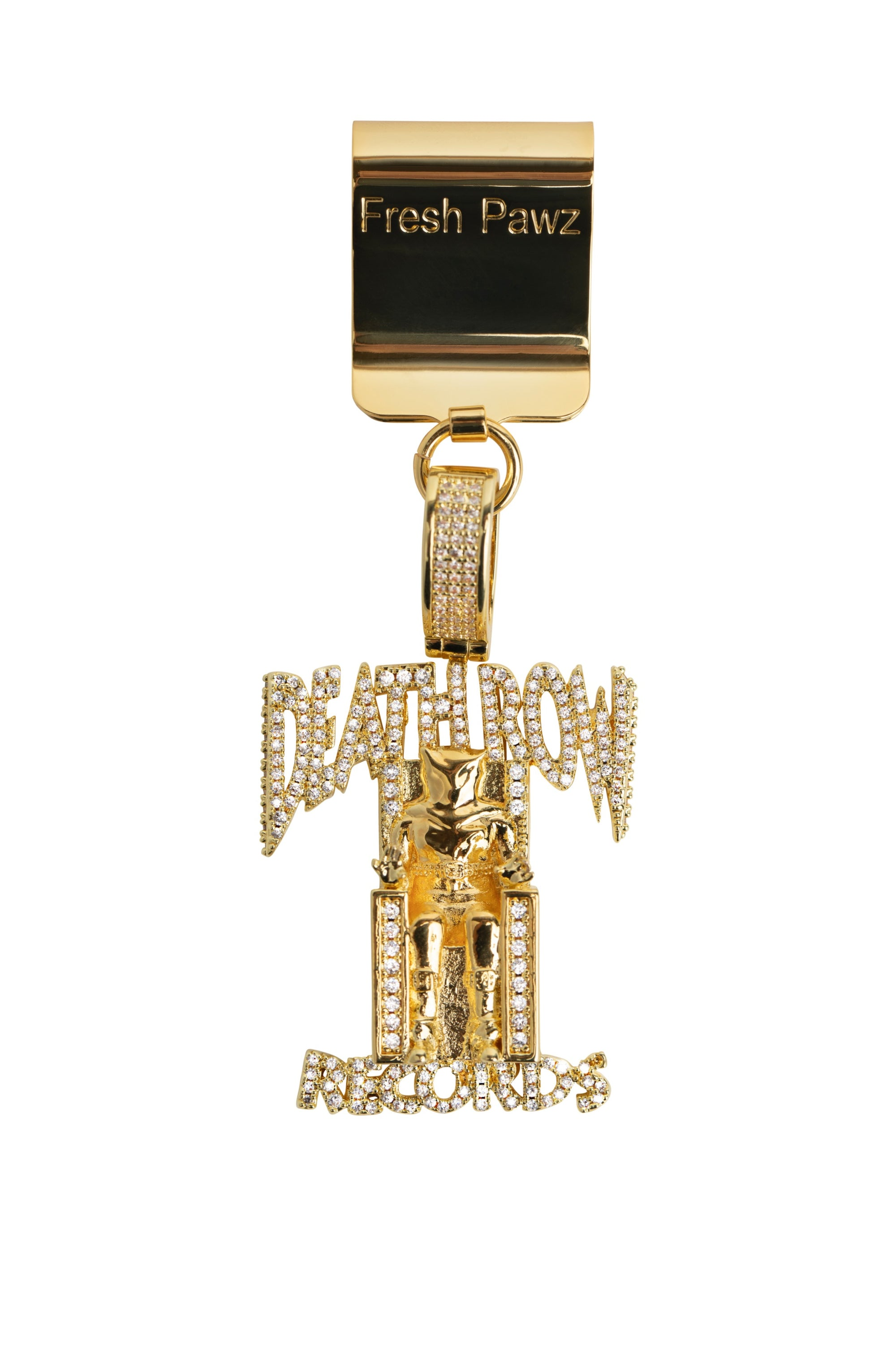Death Row x Fresh Pawz | Dog Tag