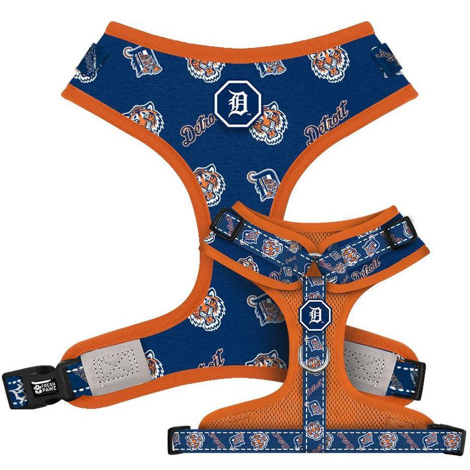 Detroit Tigers x Fresh Pawz | Adjustable Mesh Harness