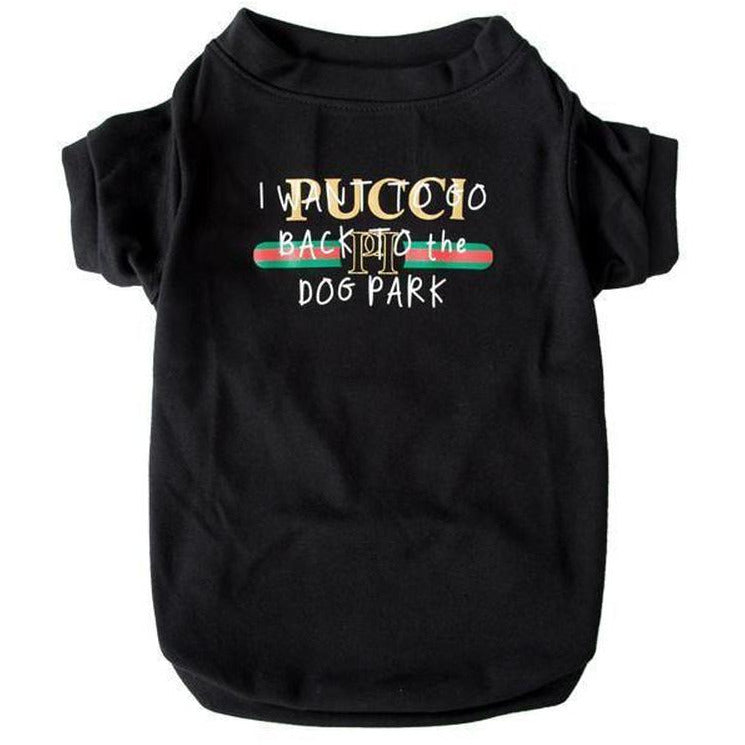 Pucci Dog Park T-Shirt | Clothing
