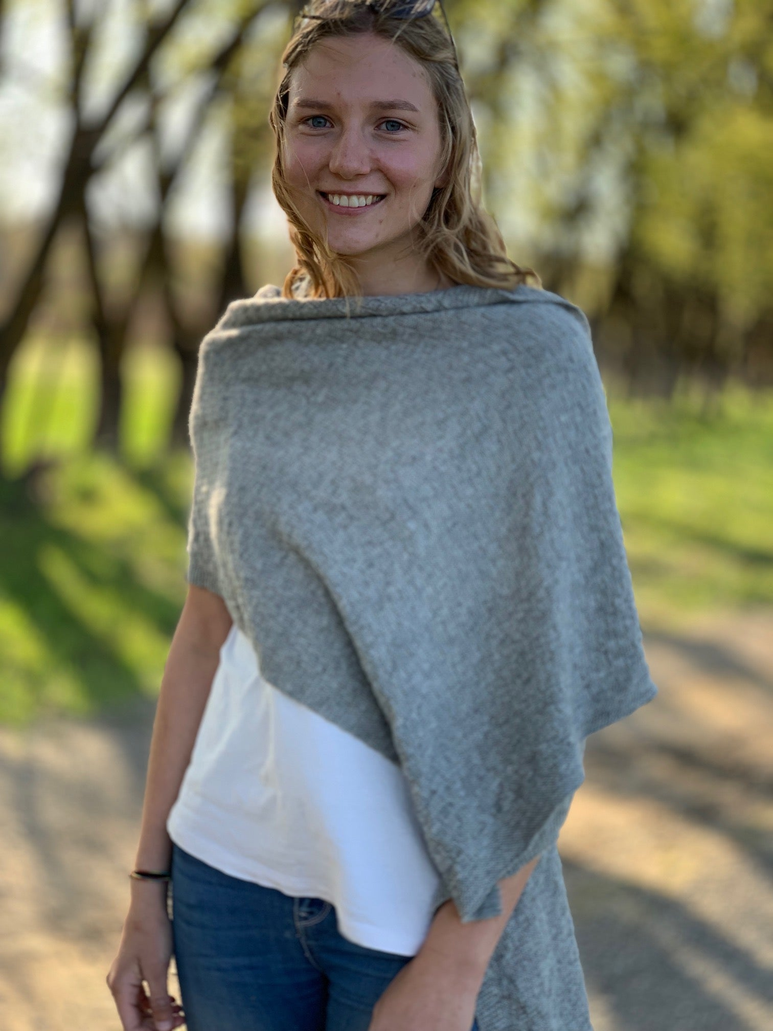 The Millthope Alpaca Wrap