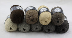 4ply stack of yarns