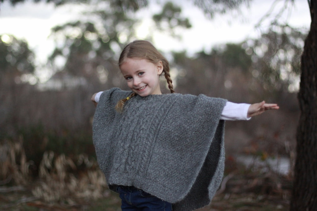Saunders Mini Poncho project pack