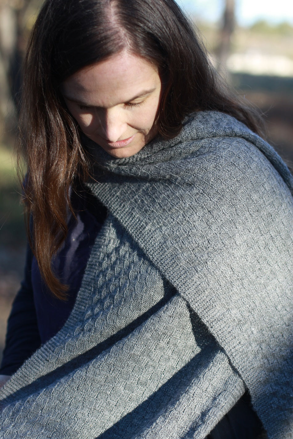The Millthope Alpaca Scarf by Adagio Mills
