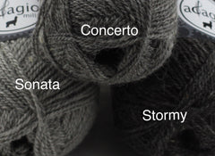 Sonata, Concerto and Stormy yarns together