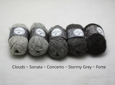 Adagio Mills Grey Gradient pack