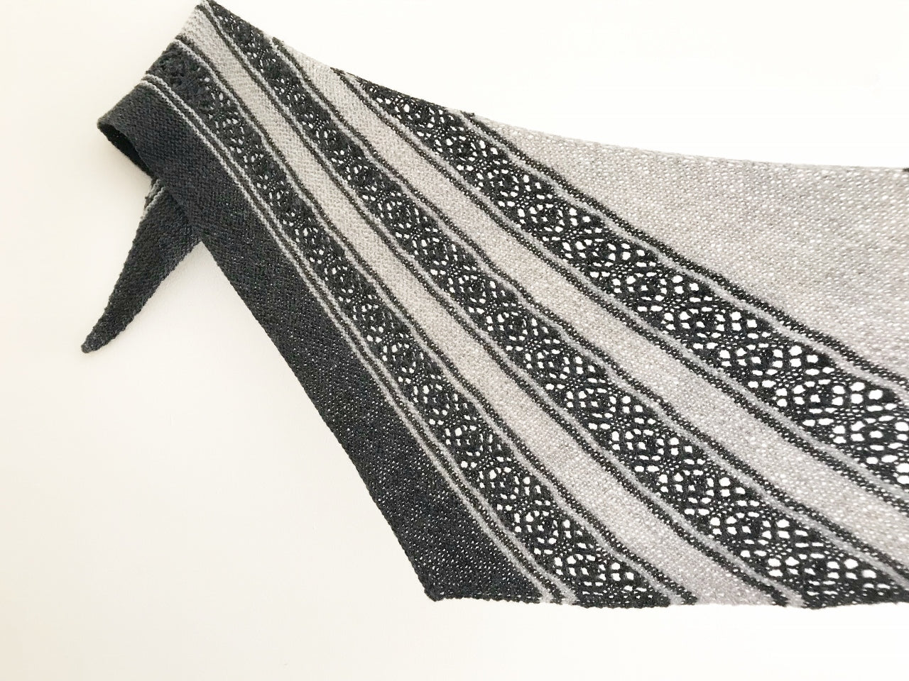 Hematite Shawl by Dominique Trad